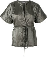 Tomas Maier kimono style wrap jacket
