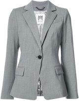 Milly one button blazer - women - Polyester/Spandex/Elastane/Wool - 4