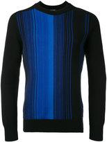 Balmain striped pullover - men - Cotton - M