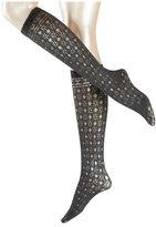 Falke Knee Socks with Cut-Out Pattern