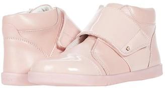 Bobux Boston Hi Top (Toddler/Little Kid) (Seashell) Girl's Shoes