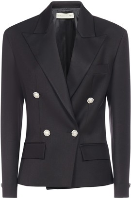 Nineminutes Spencer Smoking Double-breasted Blazer