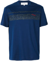 Salvatore Ferragamo logo print T-shirt - men - Cotton - XS