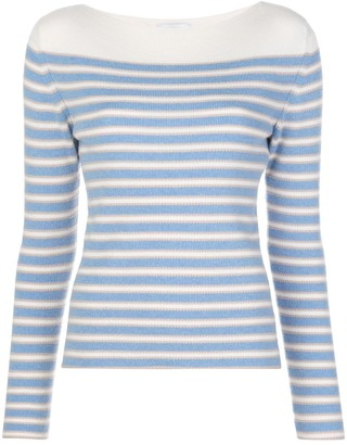 Barrie Horizontal Striped Jumper