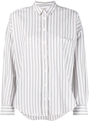 Closed Striped Organic Cotton Shirt