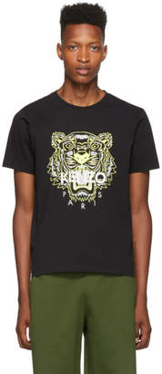 Kenzo Black Limited Edition High Summer Tiger T-Shirt