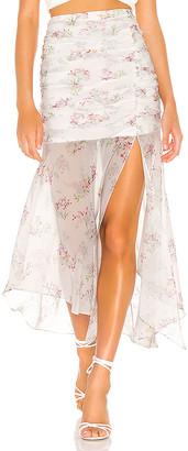 Majorelle The Orvelle Midi Skirt