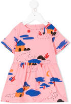 Bobo Choses Gombe hut print dress