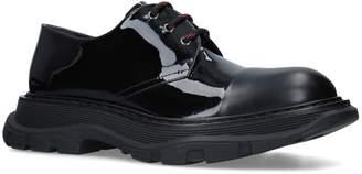 Alexander McQueen Patent Derby Shoes