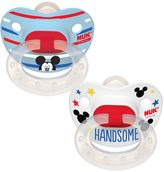 NUK Disney's Mickey Mouse 6-18 Months 2-pk. Orthodontic Pacifiers