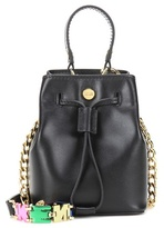 Kenzo Mini Bucket Leather Shoulder Bag