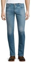 Rag & Bone Standard Issue Fit 2 Mid-Rise Relaxed Slim-Fit Jeans, Dark Blue
