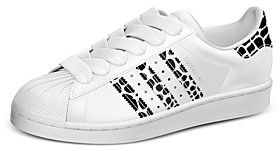 adidas Women's Superstar Lace Up Sneakers