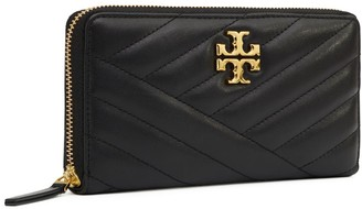 Tory Burch Kira Chevron Zip Continental Wallet