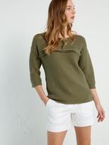 White Stuff Sand dune knit top