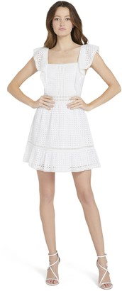 Alice + Olivia Remada Ruffle Mini Dress