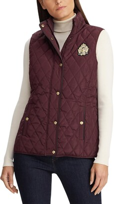 Lauren Ralph Lauren Quilted Crest Vest