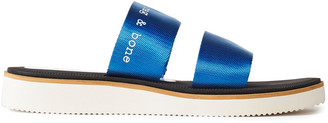 Rag & Bone Mila Logo-print Grosgrain Slides