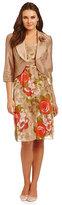 Le Bos Floral-Print Jacket Dress