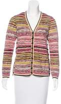 Missoni Striped Wool Cardigan