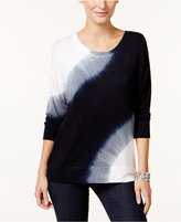 Style&Co. Style & Co. Petite Tie-Dyed Top, Only at Macy's