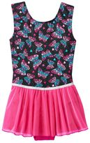 Jacques Moret Girls 4-14 Ombre Butterfly Tank Leotard