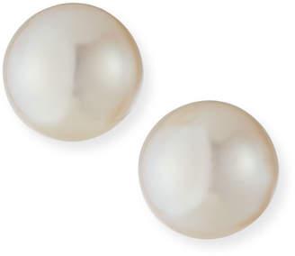 Assael Akoya Akoya Cultured 8mm 18K Yellow Gold Pearl Stud Earrings