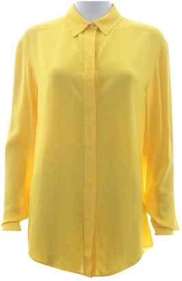 Off-White Yellow Top for Women