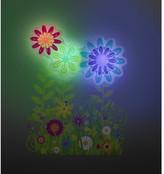 Uncle Milton Flower Garden Light Dance Garden Wall Dcor
