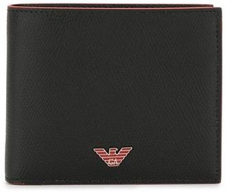 Emporio Armani Logo-Plaque Bifold Wallet
