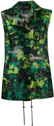 Mr & Mrs Italy Camouflage Print Gilet