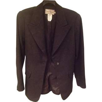 Ventilo Armand Brown Wool Jacket for Women