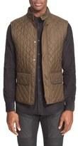 Belstaff Men's Technical Quilted Vest
