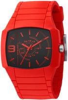 Diesel Watch, Red Silicone Strap 48x43mm DZ1351