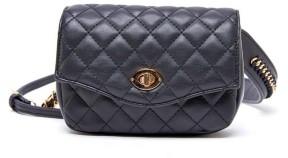 Like Dreams Quilted Embroidery Embellished Belt Bag