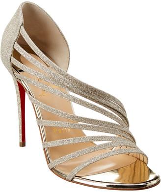 Christian Louboutin Norina 120 Glitter Sandal