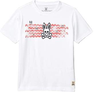 Psycho Bunny Kids Wynford Graphic Tee (Toddler/Little Kids/Big Kids)