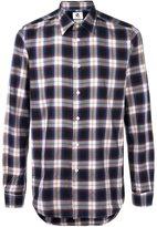 Paul Smith checked shirt - men - Cotton/Lyocell/Viscose - S