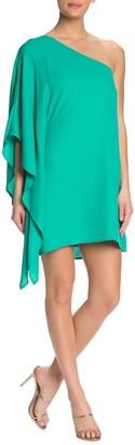 Cupcakes And Cashmere Deliz One Shoulder Mini Dress