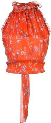 Alexis Balbina halter-neck blouse