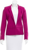 Sandro Textured Notch-lapel Blazer