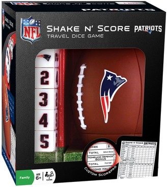 New EnglandPatriots Shake 'n' Score Travel Dice Game