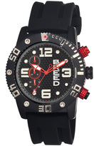 Breed Black Grand Prix Chronograph Watch