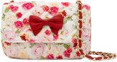 MonnaLisa floral print shoulder bag
