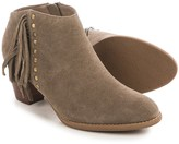 Vionic Technology Faros Fringed Ankle Boots - Suede (For Women)