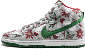 Nike SB Dunk High PRM CNCPTS 'Ugly Christmas Sweater' Shoes - Size 8