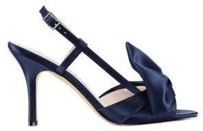 Nina Viana Peep-Toe Slingback Sandals