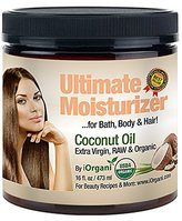 Iorgani Raw Virgin Organic Coconut Oil for Body, Skin, Scalp and Hair Growth
