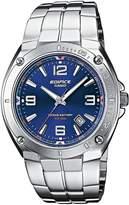 Casio EF-126D-2AVEF Men's Analog Quartz Watch with Date Indicator and Steel Bracelet