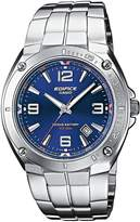 Edifice Casio EF-126D-2AVEF Men's Analog Quartz Watch with Date Indicator and Steel Bracelet